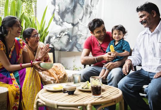 Parents and grand parents